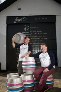 R-L Michael Harker (Head Brewer) & Mark Hird (Owner)