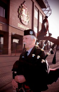 Piper David Bark at the Stadium of Light